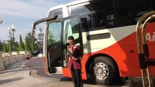 2017ホテルミラコスタからリムジンバスで羽田空港まで