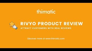 Free Shopify Product Review App - Rivyo