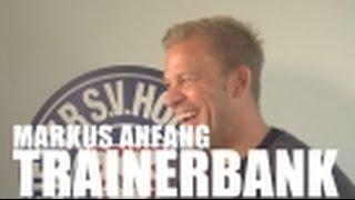 Trainerbank Markus Anfang I Wehen Wiesbaden