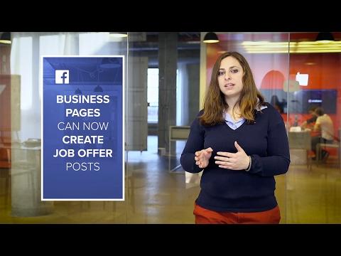 Social Media Weekly Roundup: Facebook's Job Listings, New…