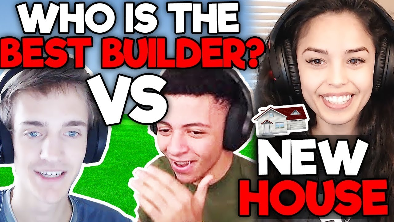 VALKYRAE'S NEW HOUSE, WHO IS BEST BUILDER?  NINJA VS MYTH? - Fortnite FUNNY & SAVAGE Moments #17