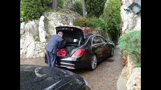 Mercedes Benz S Class - Eze, French Riviera to Hotel de Paris, Monaco