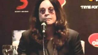 Coletiva de Imprensa com Ozzy Osbourne em São Paulo - 01 / 04 / 2011 | Parte 1