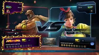 tekken7 철권7 퓨마(Puma)킹(King) VS 시크릿(Secret)Josie조시
