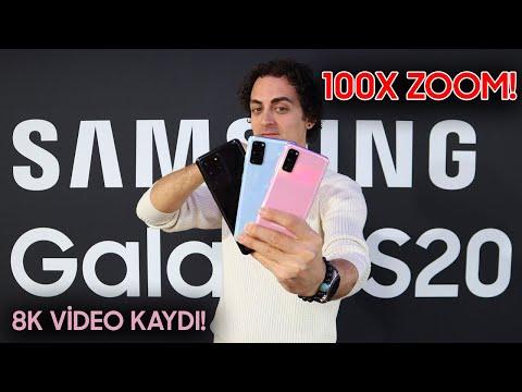 Samsung Galaxy S20, Galaxy S20 Plus ve Galaxy S20 Ultra inceleme - 100X ZOOM ile