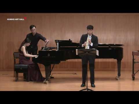 Daniel Schnyder - Sonata for Soprano Saxophone and Piano (sax. jaehyun been)