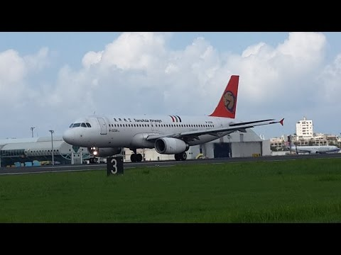 TransAsia Airways A320-200 Landing & Speak Chinese (May.20.2015)