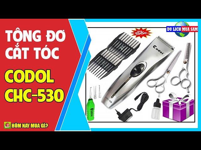 Tông Đơ Cắt Tóc Cho Bé Codol-CHC 530 🔴 Du Lịch Mua Sắm