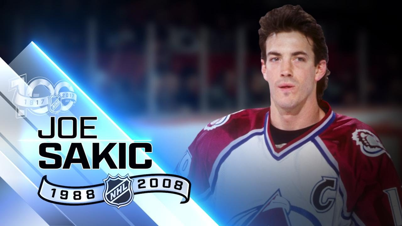 Joe Sakic captained Avalanche to two Stanley Cup wins ...
