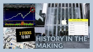 THE STOCK MARKET IS GOING TO GO CRAZY TOMORROW!!   My Watchlist   First Apple STOCK SPLIT In 6 YEARS