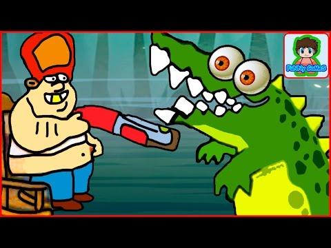 Swamp Attack смотреть игру как мультик Атака на болоте 1