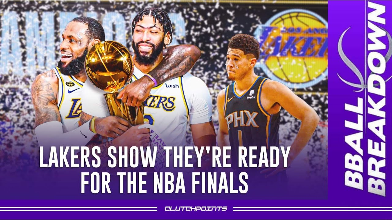 Lakers Show They're Ready For The NBA Finals   Suns v Lakers Game 3 Full Game Highlights
