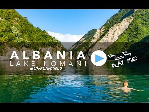WOW! Lake Komani - Albania travel video, it's amazing!