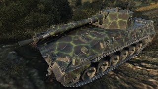World of Tanks Rheinmetall Panzerwagen (Milkys Skin) 1564 EXP 6441 DMG - Fjords