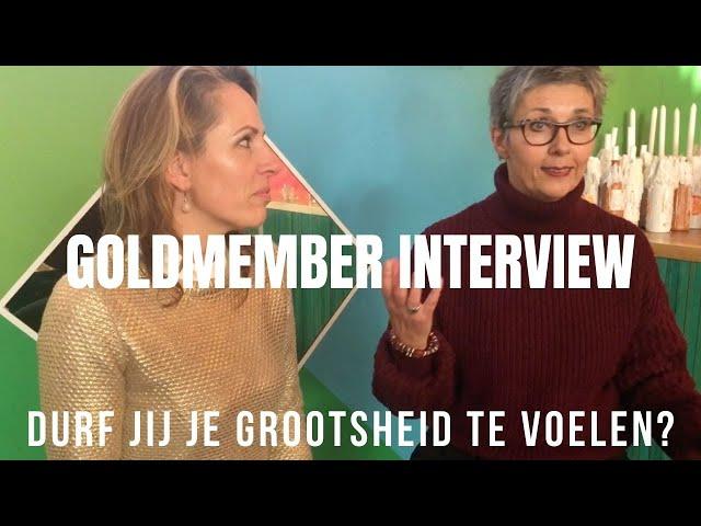 Durf jij je grootsheid te voelen? Interview Marja Pullens