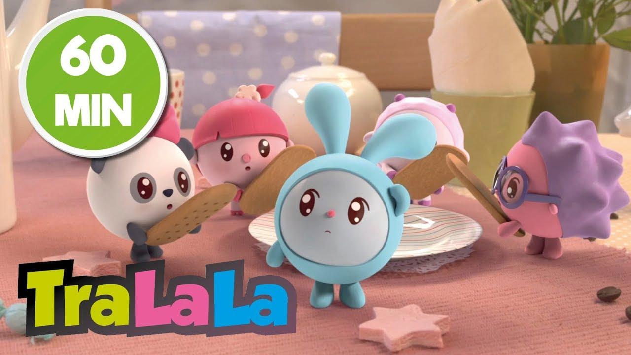 BabyRiki 60MIN (Prăjituri) - Desene animate    TraLaLa