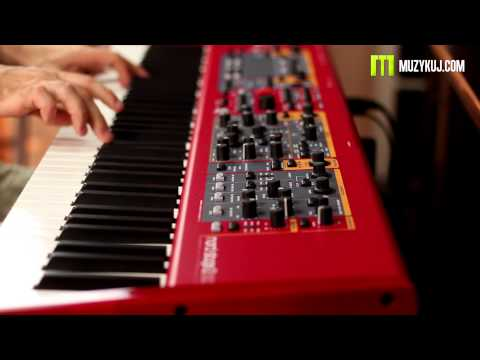 Nord Stage 2 EX Piano and Upright