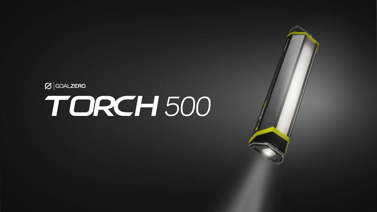 GOAL ZERO | TORCH 500 - YouTube
