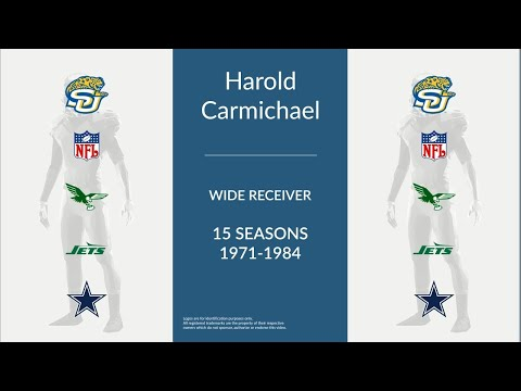 Harold Carmichael: Football Wide Receiver