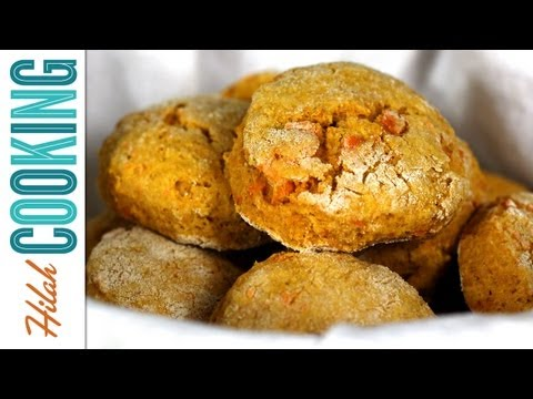 How To Make Sweet Potato Biscuits | Hilah Cooking
