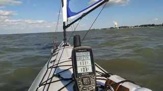 Clip 2 - Day 1 of the 2014 tour of the Erie Islands Paddle Sail Thumbnail