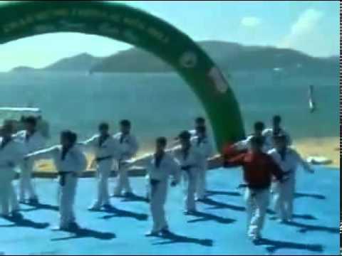 Taekwondo dance - bài quyền số 1