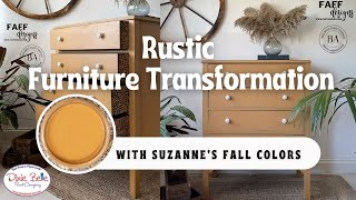 Rustic Furniture Transformation | FAFF Designs | Dixie Belle Paint