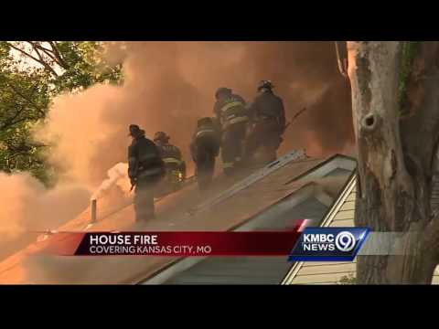 Crews put out big fire at east Kansas City home