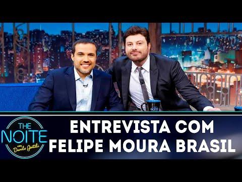 Entrevista com Felipe Moura Brasil  The Noite 190319