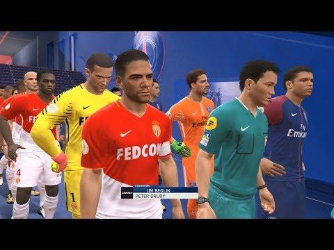 PES 2018 | PSG vs Monaco @ Parc des Princes # Ligue 1 Gameplay Pc
