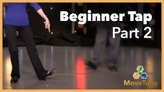 Basic Beginner Tap Lessons with Susie & Joe (Part 2 of 5)