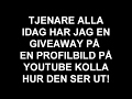 Youtube Profilbild Giveaway