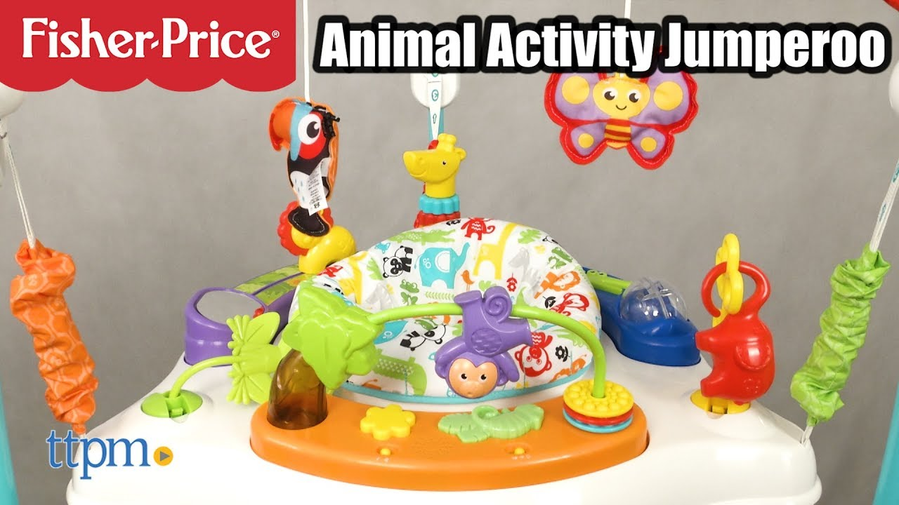 84d1721dd175 Animal Activity Jumperoo from Fisher-Price - YouTube