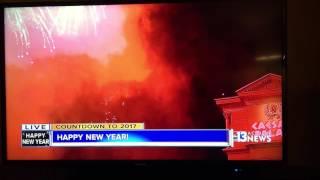 拉斯维加斯2016新年烟花