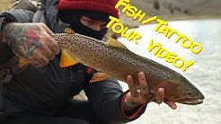 Fly Fishing on a Western Tattoo Tour!