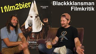 1film2bier BLACKkKLANSMAN Filmkritik Spike Lee Blaxploitation #wirsindmehr