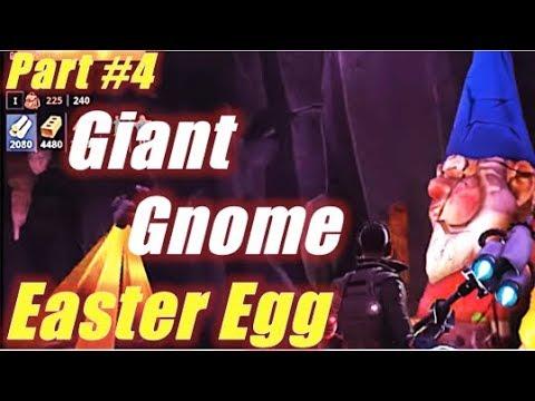 New Giant Gnome Easter Eggs Part 4 Fortnite