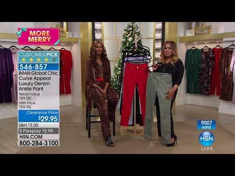 HSN | IMAN Global Chic Fashions 11.11.2017 - 05 PM