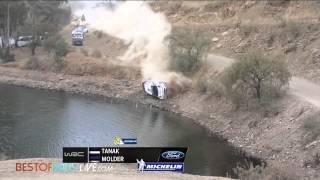 Vid�o Leg 1 (Tanak crash) - 2015 WRC Rally Mexico par Best-of-RallyLive (3512 vues)