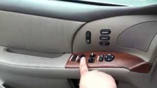 EASY DIY Exterior Door Handle Replacement 1999 BUICK Park Avenue