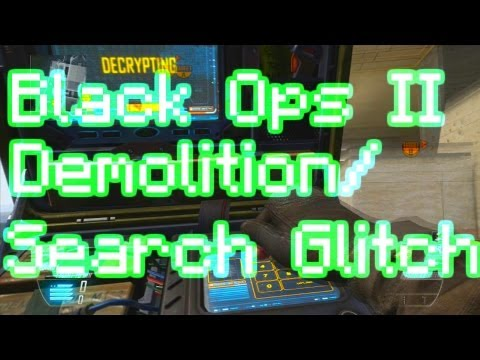 Black Ops II Demolition & Search and Destroy Glitch