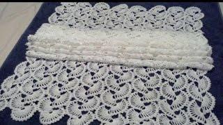 Repeat youtube video Chal de Abanicos Crochet parte 1 de 2