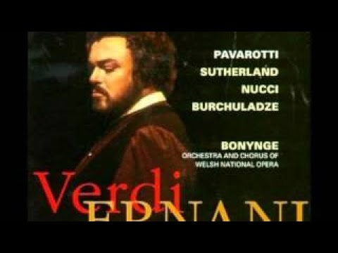 Dame Joan Sutherland sings Ernani, involami (1987 studio recording) - The Best Documentary Ever