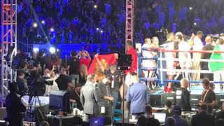 GENNADY GGG GOLOVKIN FULL FIGHT RING WALK VS VANES MARTIROSYAN