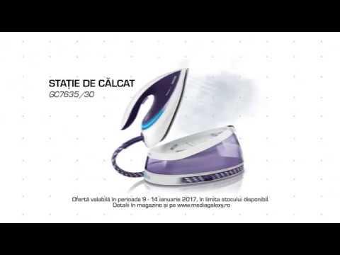 Reclama Media Galaxy - Statie Philips + Aspirator Philips