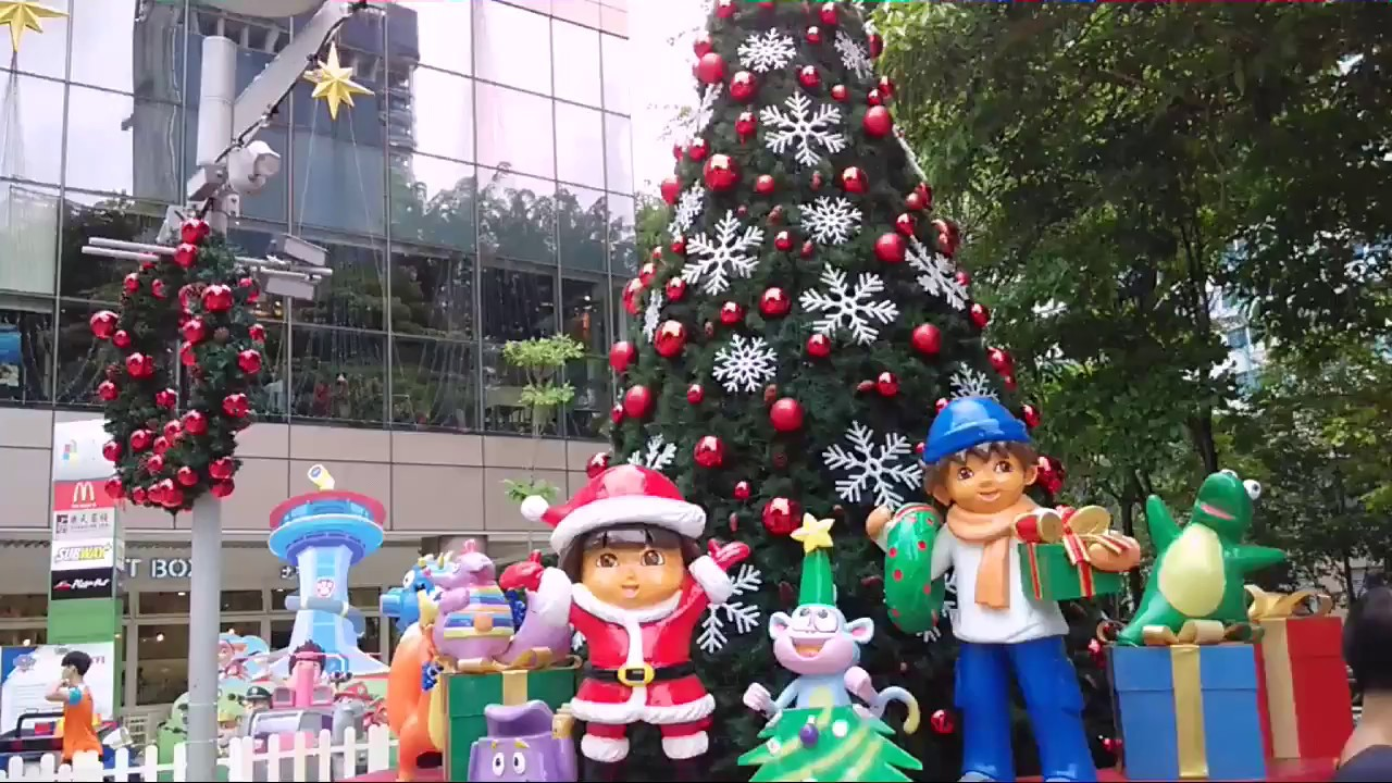 paw patrol christmas theme at city square - Paw Patrol Christmas Decorations