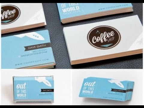 Custom business card printing online youtube custom business card printing online colourmoves