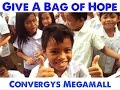 700 Students in Boracay Given Bags of Hope by Converys Megamall