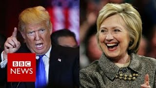 Decoding Trump and Clinton's speeches - BBC News