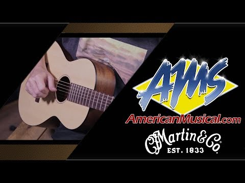 Martin 015S Custom Shop Demo - American Musical Supply